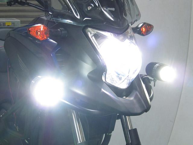 Oem Honda FLT-322 / FLH-533 / FLH-535[12Vバイク用 LEDフォグライト / LEDドライビング ...